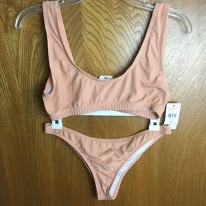 Fashion Nova Nude Bikini NWT